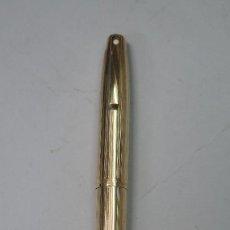 Bolígrafos antiguos: BOLIGRAFO SHEAFFER. ORO 12 K. G.F. IMPERIAL 777. Lote 134392590