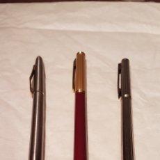 Bolígrafos antiguos: LOTE DE 3 BOLÍGRAFOS VINTAGE. AÑOS 70.. Lote 134448597