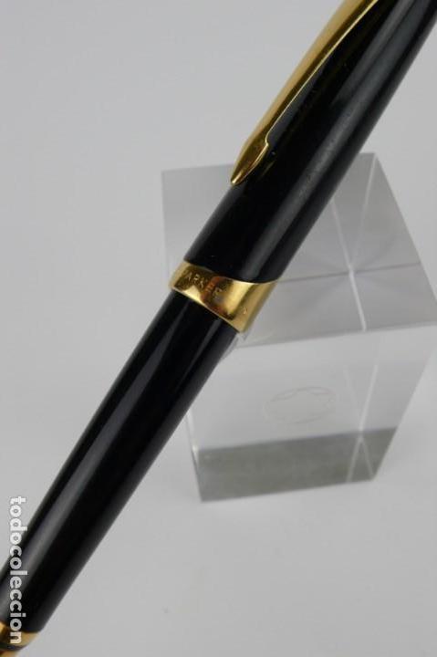 Bolígrafos antiguos: Bolígrafo Parker mecanismo automático - Foto 5 - 138235118