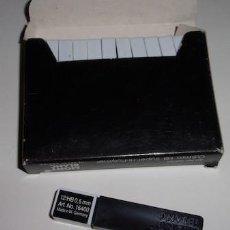 Bolígrafos antiguos: CAJA CON 12 ESTUCHES DE 12 MINAS PARA PORTAMINAS MONT BLANC HB 0,5 MM.. Lote 138862202