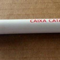 Bolígrafos antiguos: BOLÍGRAFO PUBLICITARIO - CAIXA DE CATALUNYA - . Lote 139899510