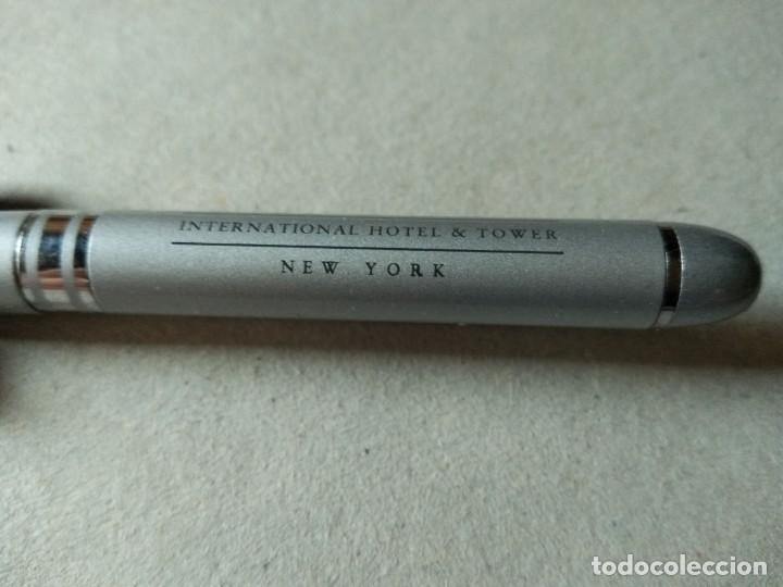 Bolígrafos antiguos: BOLIGRAFO DEL HOTEL DONALD TUPM - Foto 2 - 140175850