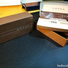 Bolígrafos antiguos: CROSS BOLIGRAFO DORADO. Lote 141542898