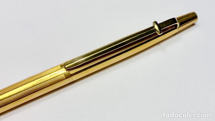 Bolígrafos antiguos: Bolígrafo Madison Caran D'Ache Swiss - chapado en oro 18 quilates - Foto 4 - 142547898