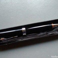 Bolígrafos antiguos: HARLEY DAVIDSON BOLÍGRAFO EDICIÓN ESPECIAL FRANCIA EN SU CAJA. Lote 143546386