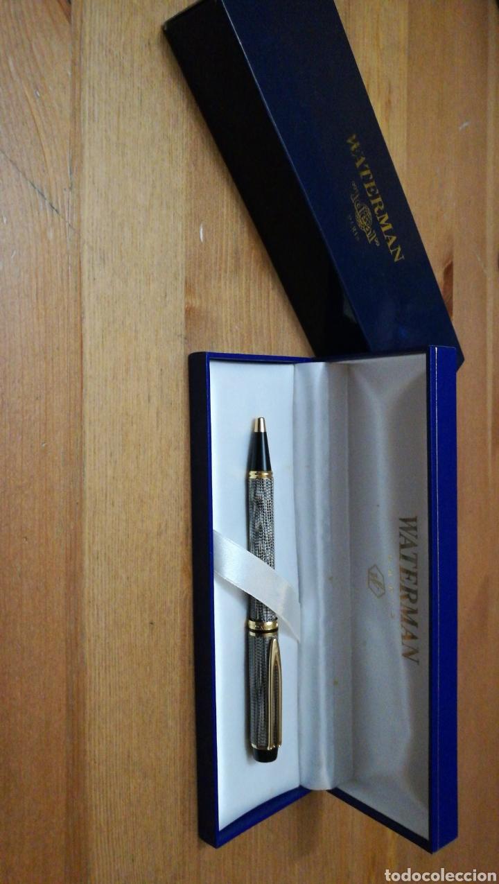 Bolígrafos antiguos: Boligrafo Waterman LeMan Rhapsody Caviar - Foto 2 - 143694481