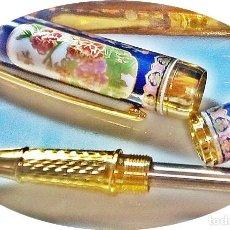Bolígrafos antiguos: ROVELLBALL PORCELANA . Lote 143992474