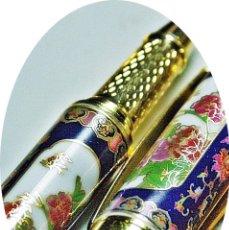Bolígrafos antiguos: ROVELL-BALL DE PORCELANA. Lote 143992474