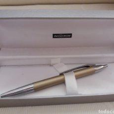 Bolígrafos antiguos: BOLÍGRAFO -INOXCROM-. Lote 144859508