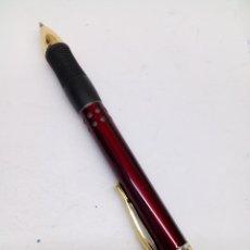 Bolígrafos antiguos: BOLÍGRAFO LACADO ROJO. Lote 145492714