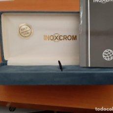 Bolígrafos antiguos: BOLIGRAFO INOXCROM - COMPLETAMENTE NUEVO ( GOLD 23´6 KTS). Lote 145597926