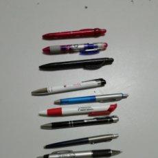 Bolígrafos antiguos: LOTE 10 BOLÍGRAFOS PUBLICIDAD.. Lote 146173974