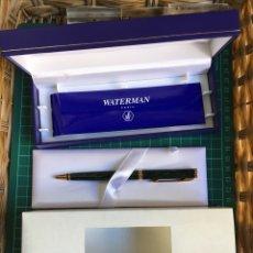 Bolígrafos antiguos: BOLÍGRAFO WATERMAN PREFACE COLOR VERDE. Lote 148529929