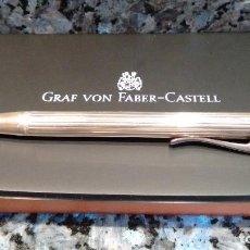 Bolígrafos antiguos: BOLÍGRAFO FABER CASTELL GRAF VON PLATA. Lote 149602318