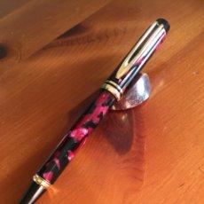Alte Kugelschreiber - Bolígrafo Waterman Le Man de color burdeo marmolado - 150546350