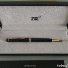 Bolígrafos antiguos: BOLÍGRAFO MONTBLANC CON ESTUCHE ORIGINAL . Lote 151484098