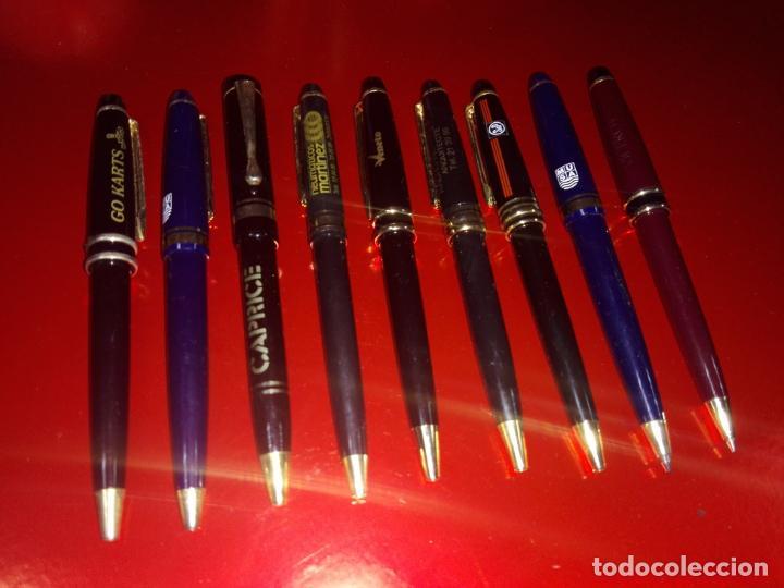 Bolígrafos antiguos: LOTE 9 BOLÍGRAFOS-PUBLICIDAD DIVERSA-VER FOTOS. - Foto 5 - 151997702