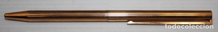Bolígrafos antiguos: BOLIGRAFO S T DUPONT-CON ESTUCHE Y TARJETA DE AUTENTICIDAD. - Foto 4 - 152231550