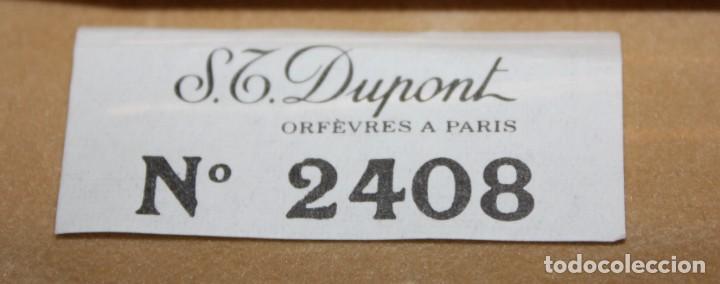 Bolígrafos antiguos: BOLIGRAFO S T DUPONT-CON ESTUCHE Y TARJETA DE AUTENTICIDAD. - Foto 11 - 152231550