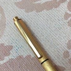 Bolígrafos antiguos: BOLÍGRAFO NESTLER MADE EN GERMANY DORADO. Lote 152373204
