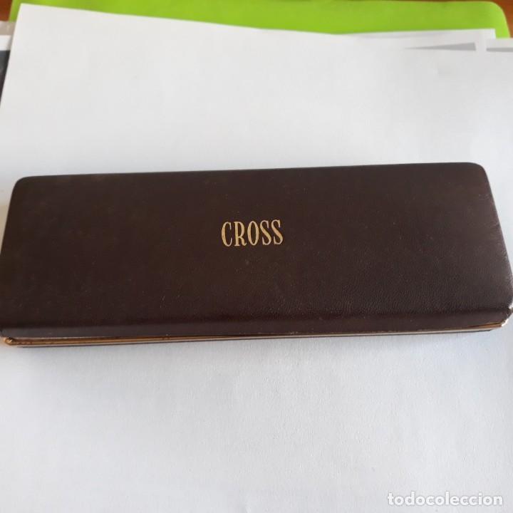 Bolígrafos antiguos: Boligrafo Cross 1/20 10 kts.USA. - Foto 3 - 152643390
