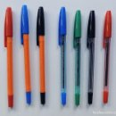 Bolígrafos antiguos: 7 BOLIGRAFOS - INOXCROM 1500 / CUERPO CRISTAL - CUERPO NARANJA / SERIE COMPLETA / SIN USAR. Lote 157666280