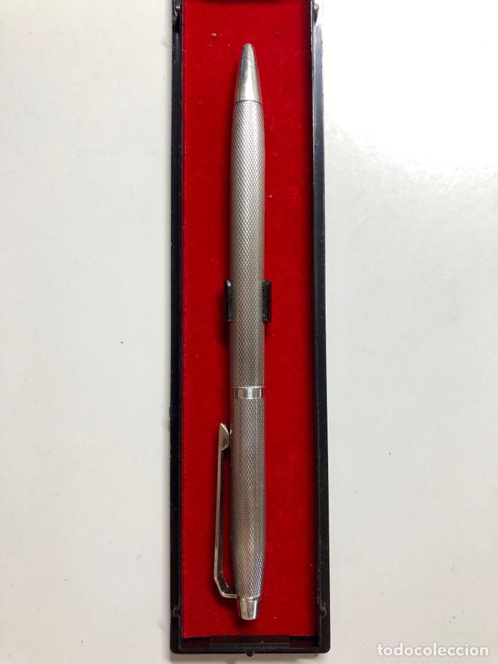 Bolígrafos antiguos: Bolígrafo plata 925 clip personalizado - Foto 6 - 152964204