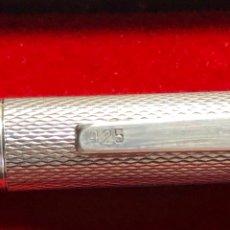 Bolígrafos antiguos - Bolígrafo plata 925 clip personalizado - 152964204