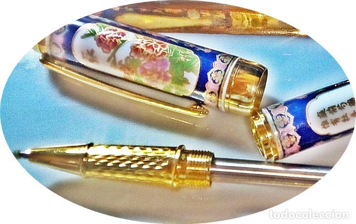 Bolígrafos antiguos: ROVELL-BALL DE PORCELANA - Foto 2 - 143992474