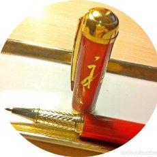 Bolígrafos antiguos: ROVELLBALL PORCELANA. Lote 154340718