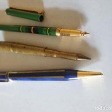 Bolígrafos antiguos: TRIO BOLIGRAFOS . Lote 154806238