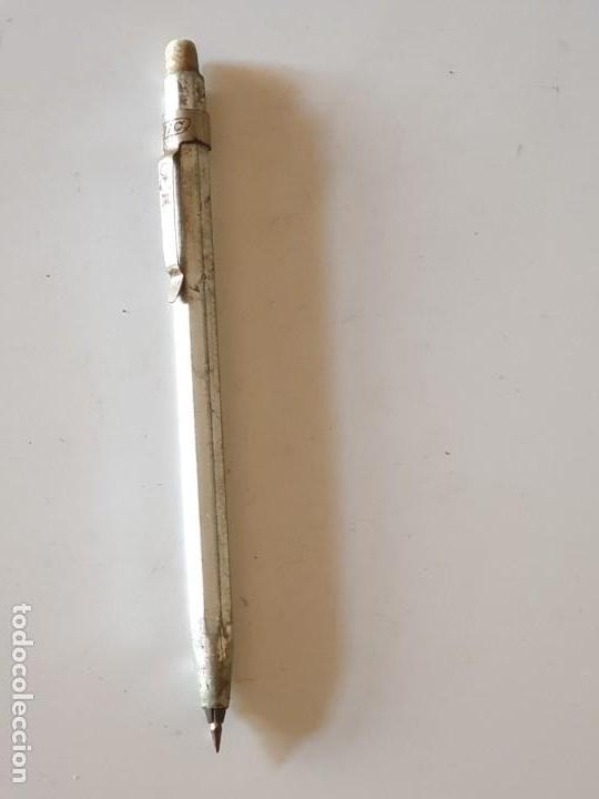 Bolígrafos antiguos: Antiguo boligrafo bic con goma clipper - Foto 5 - 154803902