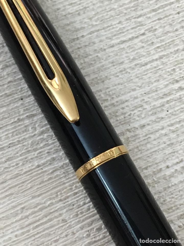 Bolígrafos antiguos: Bolígrafo waterman france de alta gama como nuevo - Foto 3 - 155882412