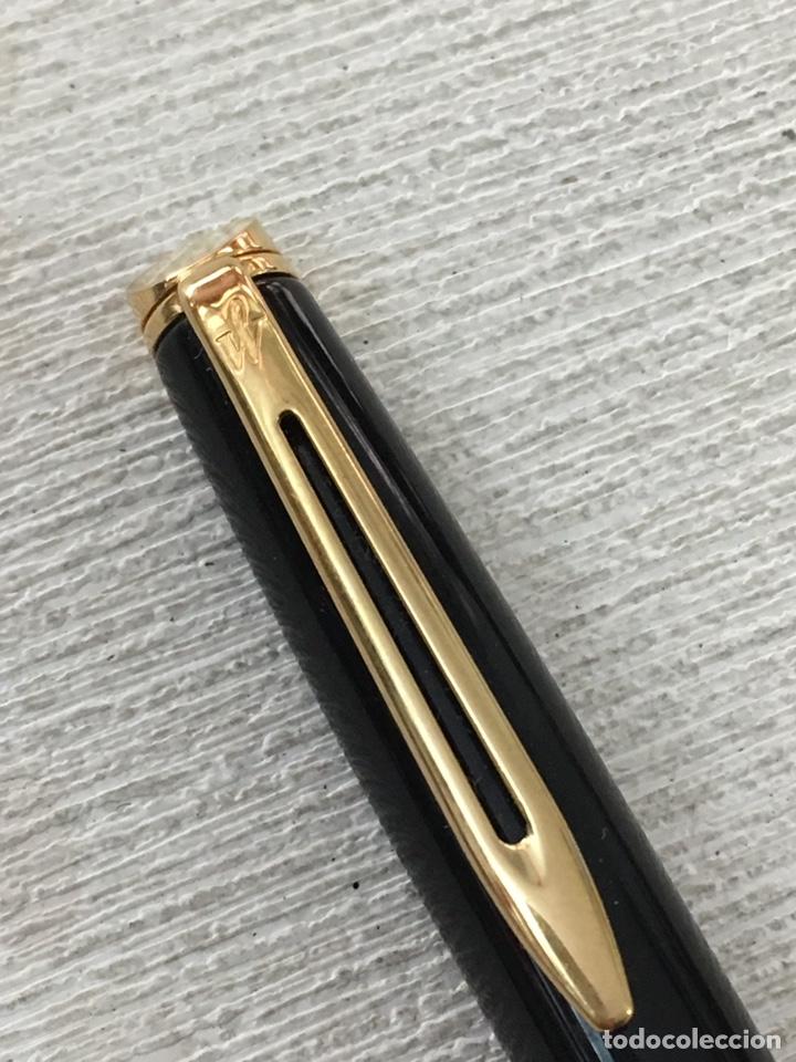 Bolígrafos antiguos: Bolígrafo waterman france de alta gama como nuevo - Foto 4 - 155882412
