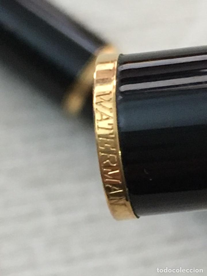 Bolígrafos antiguos: Bolígrafo waterman france de alta gama como nuevo - Foto 6 - 155882412