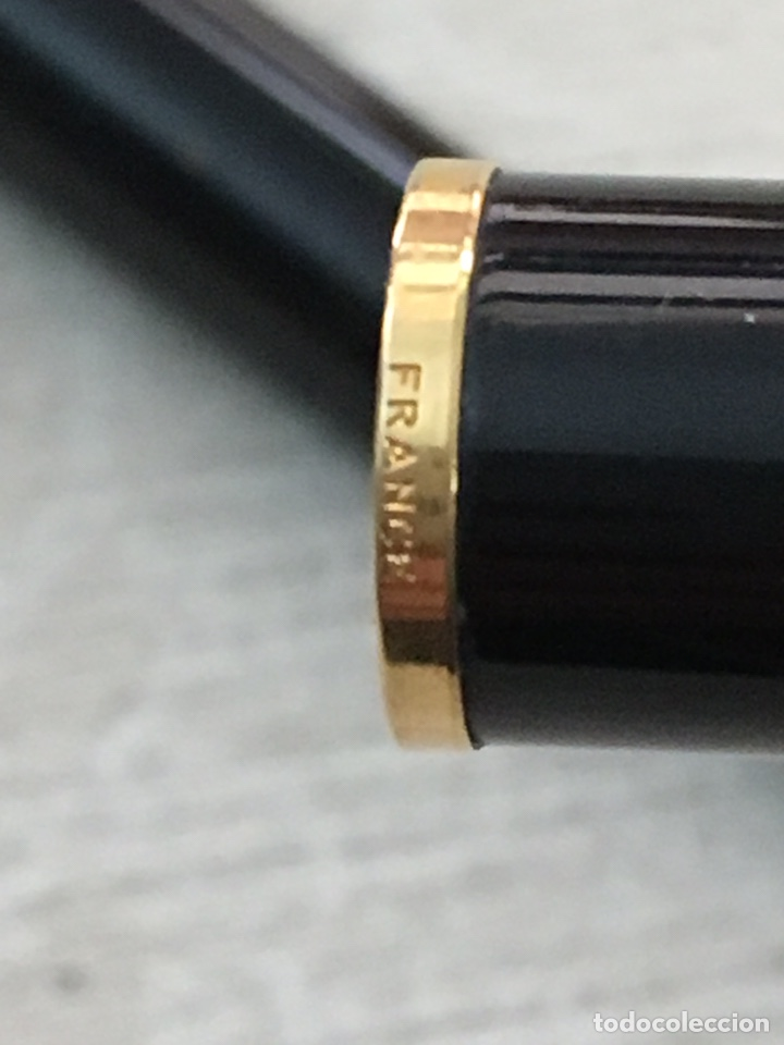 Bolígrafos antiguos: Bolígrafo waterman france de alta gama como nuevo - Foto 7 - 155882412