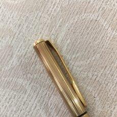 Bolígrafos antiguos: BOLÍGRAFO SAROME DORADO EN PERFECTO ESTADO. Lote 155890588