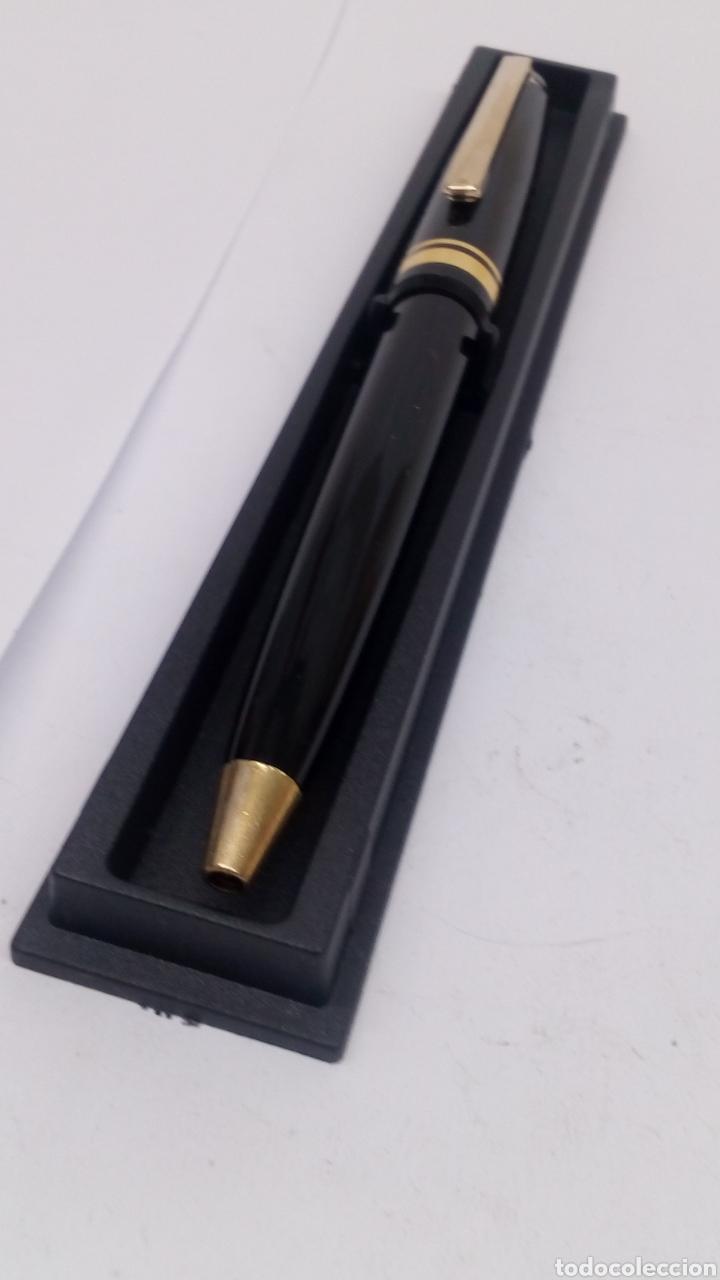 Bolígrafos antiguos: Bolígrafo lacado negro - Foto 3 - 155912512