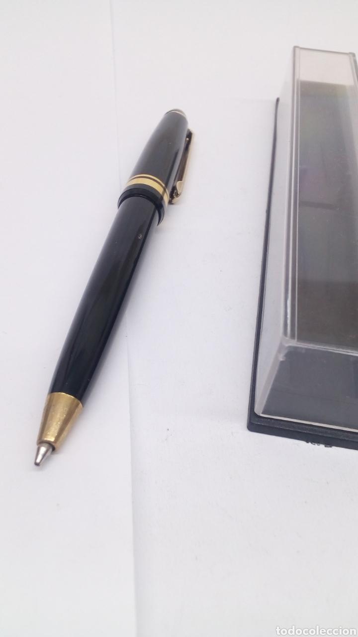Bolígrafos antiguos: Bolígrafo lacado negro - Foto 4 - 155912512