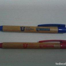 Bolígrafos antiguos: BOLÍGRAFOS OSALAN GOBIERNO VASCO.. Lote 155973766