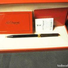 Bolígrafos antiguos: BOLÍGRAFO S.T. DUPONT MODELO MONTPARNASSE 450274 BALLPOINT LACADO CHINO. Lote 158911290