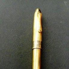 Bolígrafos antiguos: INMENSO BOLÍGRAFO DAVIDOFF DE PLATA . Lote 159102774