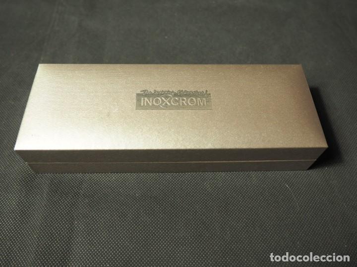 Alte Kugelschreiber: Bolígrafo Inoxcrom Roller Atlantic cobre. A estrenar - Foto 4 - 159118882