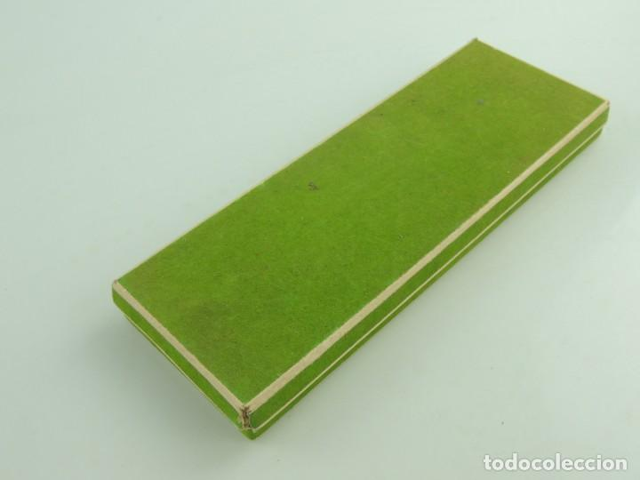 Alte Kugelschreiber: Juego de Tres Bolígrafos Caja Original Polonia Paget Años 70-80 Vintage - Foto 14 - 159448562