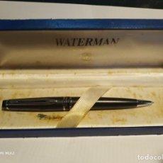 Bolígrafos antiguos: WATERMAN PARÍS BOLÍGRAFO EN SU CAJA. Lote 159540586
