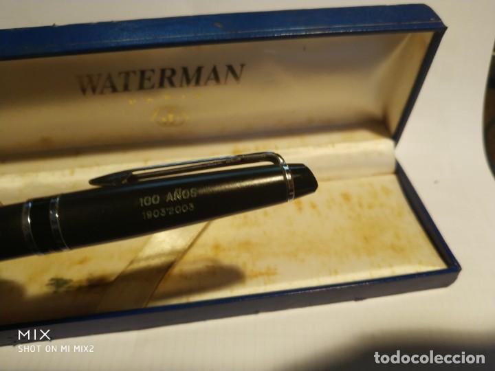Bolígrafos antiguos: WATERMAN París Bolígrafo en su caja - Foto 3 - 159540586
