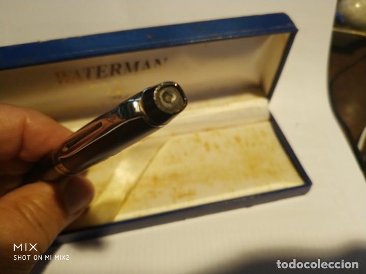 Bolígrafos antiguos: WATERMAN París Bolígrafo en su caja - Foto 4 - 159540586