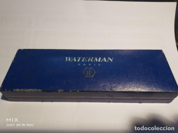 Bolígrafos antiguos: WATERMAN París Bolígrafo en su caja - Foto 5 - 159540586