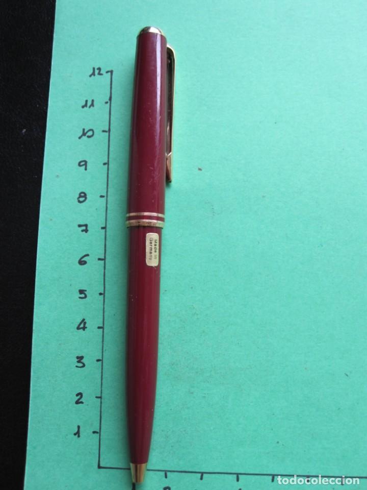BOLIGRAFO MONTBLANC GRANATE (Plumas Estilográficas, Bolígrafos y Plumillas - Bolígrafos)