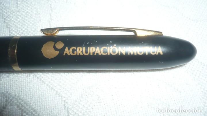 Bolígrafos antiguos: Boligrafo Agrupación Mutua - Foto 2 - 160626186
